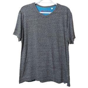 Robert Graham Gray Short Sleeve T-shirt Sz Medium